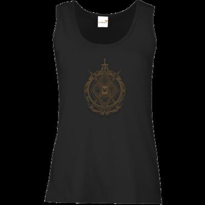 Motiv: Tank Top Damen Classic - B2W Wappen Black
