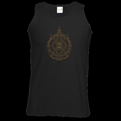 Motiv: Athletic Vest - B2W Wappen Black