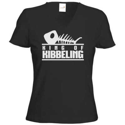 Motiv: T-Shirt Damen V-Neck Classic - Dead by Daylight - King of Kibbeling