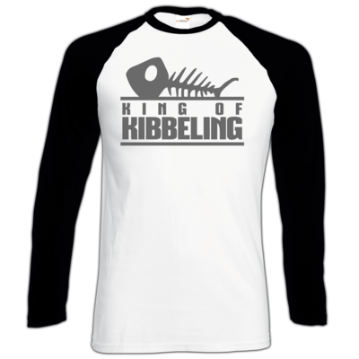 Motiv: Longsleeve Baseball T - Dead by Daylight - King of Kibbeling