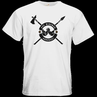 Motiv: T-Shirt Premium FAIR WEAR - Annunaki dunkel