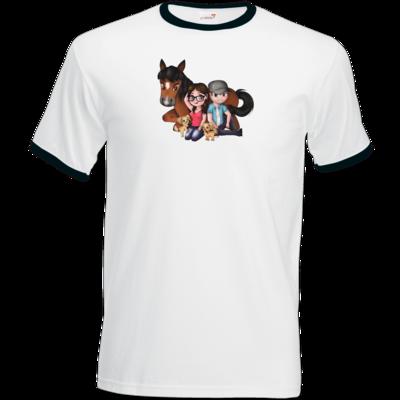 Motiv: T-Shirt Ringer - Motiv 3