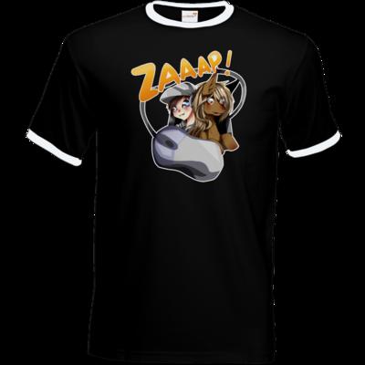 Motiv: T-Shirt Ringer - Logo2