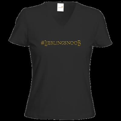 Motiv: T-Shirt Damen V-Neck Classic - Lieblingsnoob