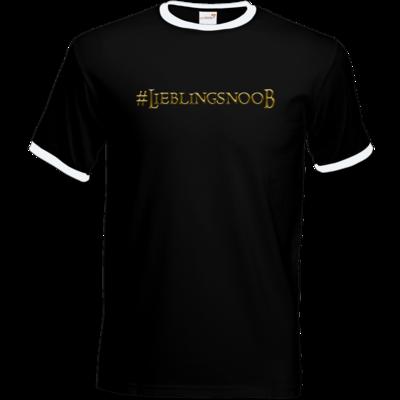 Motiv: T-Shirt Ringer - Lieblingsnoob