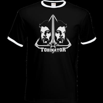 Motiv: T-Shirt Ringer - StarBadge