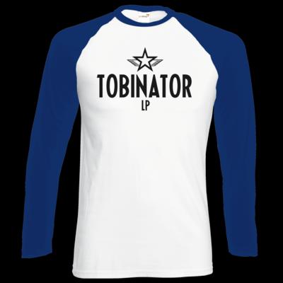 Motiv: Longsleeve Baseball T - Tobinator
