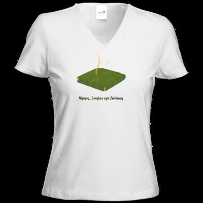 Motiv: T-Shirt Damen V-Neck Classic - Lembas