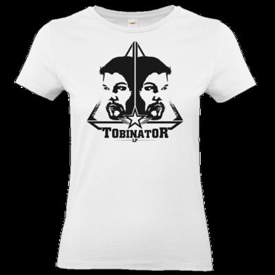 Motiv: T-Shirt Damen Premium FAIR WEAR - StarBadge dark