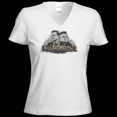 Motiv: T-Shirt Damen V-Neck Classic - Heidelwurst