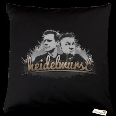 Motiv: Kissen Baumwolle - Heidelwurst