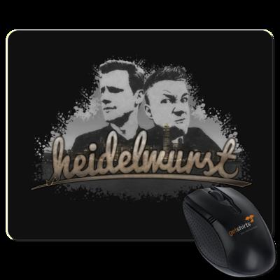 Motiv: Mousepad Textil - Heidelwurst