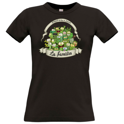 Motiv: T-Shirt Damen Premium FAIR WEAR - LaFamilia