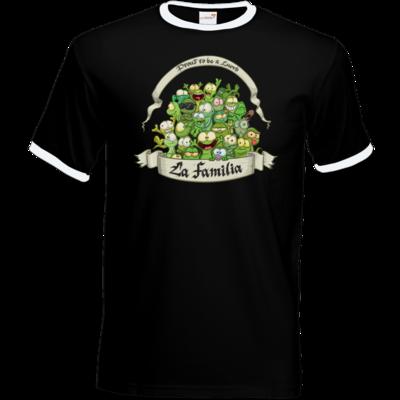Motiv: T-Shirt Ringer - LaFamilia
