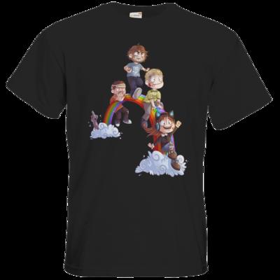 Motiv: T-Shirt Premium FAIR WEAR - Dead by Daylight - Regenbogen