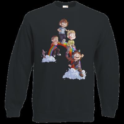 Motiv: Sweatshirt Classic - Dead by Daylight - Regenbogen