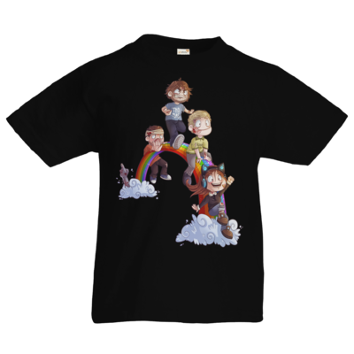 Motiv: Kids T-Shirt Premium FAIR WEAR - Dead by Daylight - Regenbogen