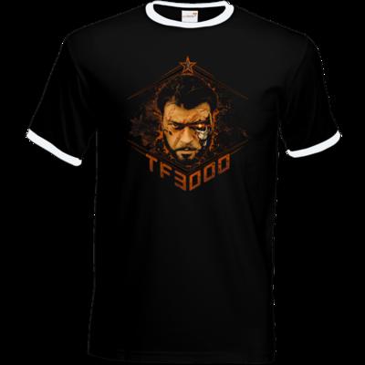 Motiv: T-Shirt Ringer - TF3000