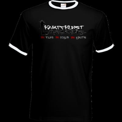 Motiv: T-Shirt Ringer - Kampfkunst Lifestyle - Logo 1