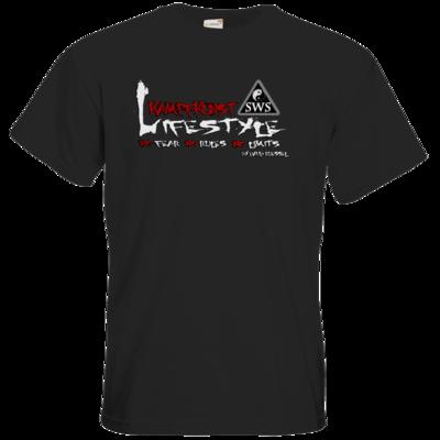 Motiv: T-Shirt Premium FAIR WEAR - Kampfkunst Lifestyle - Logo 2
