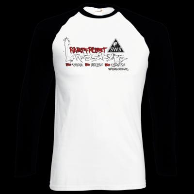 Motiv: Longsleeve Baseball T - Kampfkunst Lifestyle - Logo 2