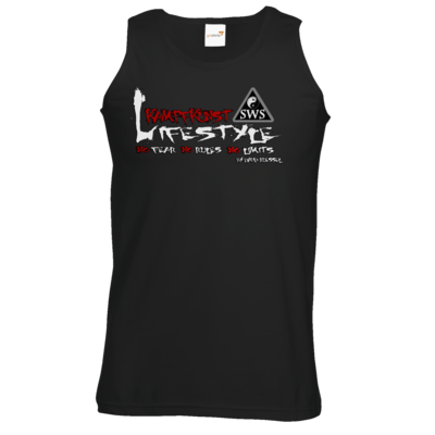 Motiv: Athletic Vest - Kampfkunst Lifestyle - Logo 2