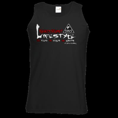 Motiv: Athletic Vest - Kampfkunst Lifestyle - Logo 2