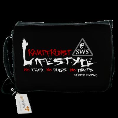 Motiv: Schultertasche - Kampfkunst Lifestyle - Logo 2