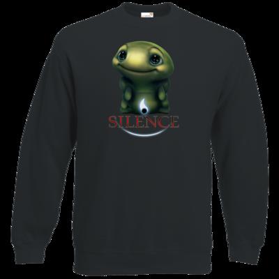 Motiv: Sweatshirt Classic - Silence - Spot 1