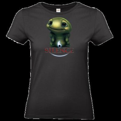 Motiv: T-Shirt Damen Premium FAIR WEAR - Silence - Spot 1