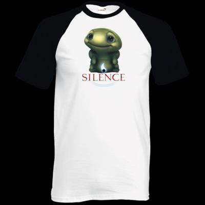 Motiv: TShirt Baseball - Silence - Spot 1
