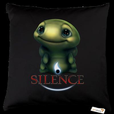 Motiv: Kissen Baumwolle - Silence - Spot 1