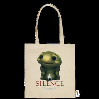 Motiv: Baumwolltasche - Silence - Spot 1