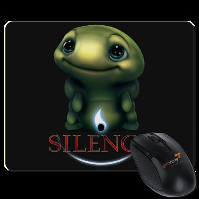 Motiv: Mousepad Textil - Silence - Spot 1