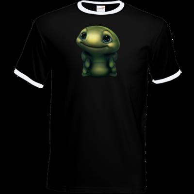 Motiv: T-Shirt Ringer - Silence - Spot 2