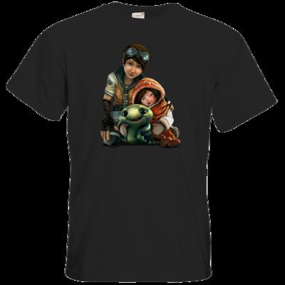Motiv: T-Shirt Premium FAIR WEAR - Silence - Group 2