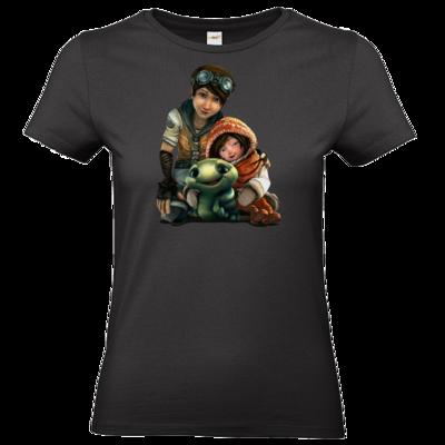 Motiv: T-Shirt Damen Premium FAIR WEAR - Silence - Group 2