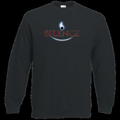 Motiv: Sweatshirt Classic - Silence - Logo
