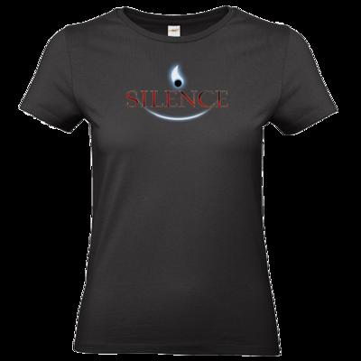 Motiv: T-Shirt Damen Premium FAIR WEAR - Silence - Logo