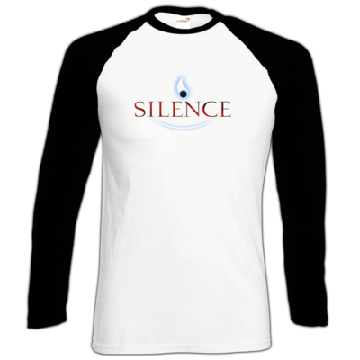 Motiv: Longsleeve Baseball T - Silence - Logo