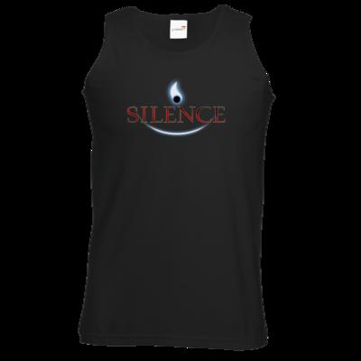 Motiv: Athletic Vest - Silence - Logo
