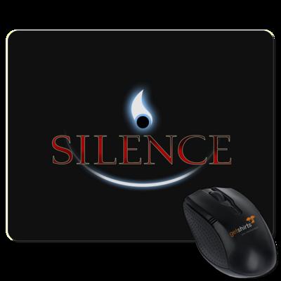 Motiv: Mousepad Textil - Silence - Logo