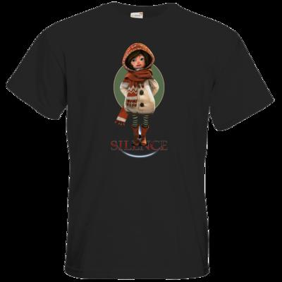 Motiv: T-Shirt Premium FAIR WEAR - Silence - Renie