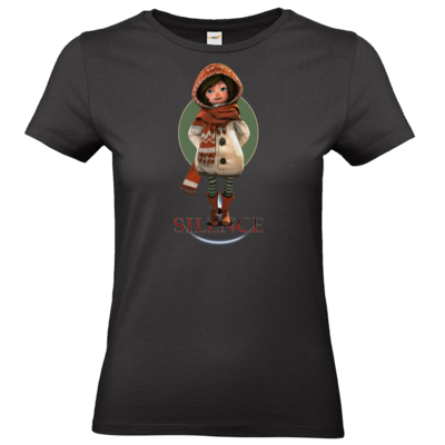 Motiv: T-Shirt Damen Premium FAIR WEAR - Silence - Renie