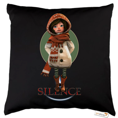 Motiv: Kissen Baumwolle - Silence - Renie