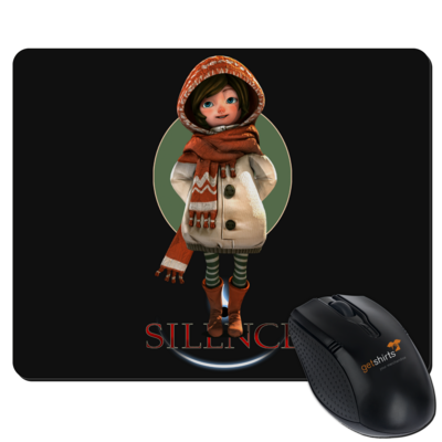 Motiv: Mousepad Textil - Silence - Renie