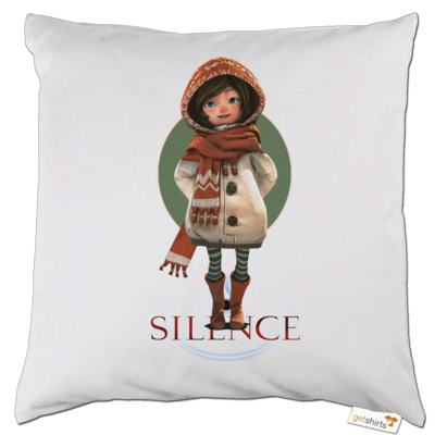 Motiv: Kissen - Silence - Renie