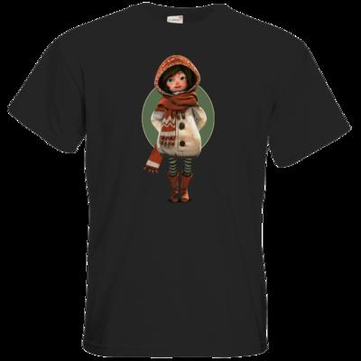 Motiv: T-Shirt Premium FAIR WEAR - Silence - Renie 2