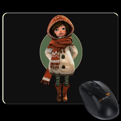 Motiv: Mousepad Textil - Silence - Renie 2