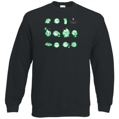 Motiv: Sweatshirt Classic - Silence - Icons